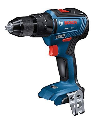 BOSCH GSB18V-490N 18V EC Brushless 1/2 in. Hammer Drill/Driver (Bare Tool)