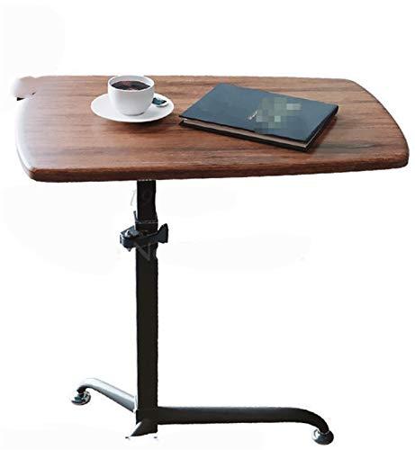 Formación De Profesores Portátil Tabla Podium Tabla Móvil Escritorio Hablando De Escritorio Simple Permanente Ascensor Desk Soporte Básico For Escritorio Mesa de cama con ruedas ( Color : Dark brown )