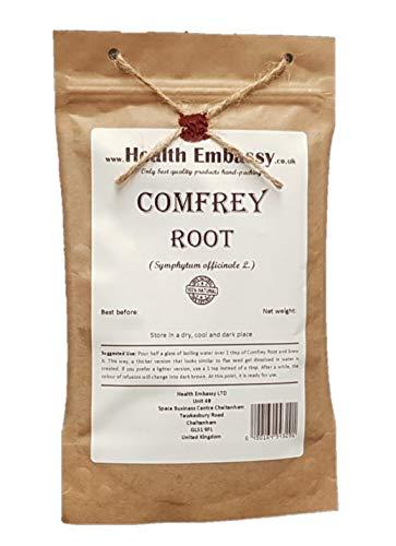 Health Embassy Beinwellwurzel (Symphytum Officinale) / Comfrey Root, 50g