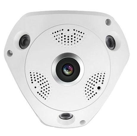 ROMIX 1080P POE 2.0MP 360 Degree Panoramic CCTV Security IP Network FishEye Camera