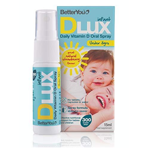 Daglig D-vitamin oral spray för spädbarn och barn upp till 3 år
