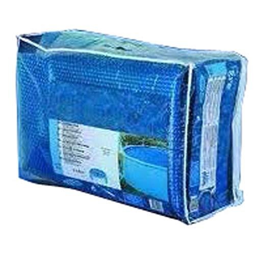 Gre CPROV505 - Cobertor de Verano para Piscina Ovalada de 500 x 300 cm, Color Azul