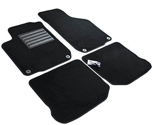 MTM SP-3669 Alfombrillas en Velour, Golf IV (1J) 19982003 / New Beetle 19982011 / Bora 19982011 / Leon I 9905