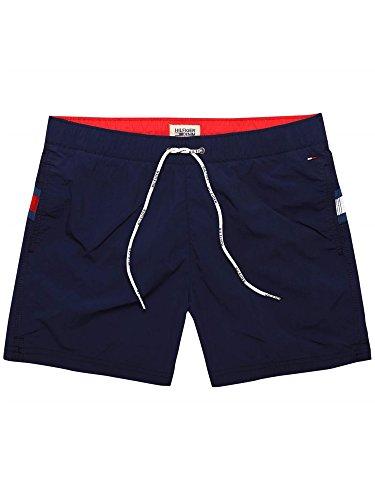 Hilfiger Denim - Flag - Short de bain - Uni - Homme - Bleu (Black Iris) - FR : X-Large (Taille fabricant : XL)