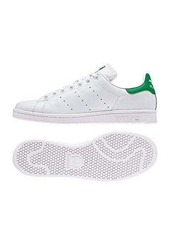 adidas Originals Stan Smith, Zapatillas de Deporte Unisex Adulto, Blanco (Footwear White Calzado White Core Black), 40 EU