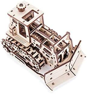 Time for Oklahoma City Mall Machine Mechanical Manufacturer OFFicial shop 3D Wooden Co Dozer Puzzle Push Model