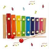 CJCGLOBAL Xilofono per Bambini Giocattoli Xilofono Giocattoli in Legno Multicolore ,Giocattoli in Legno Strumento Musicale per Bambini Giocattoli per Lo Sviluppo educativo Regali