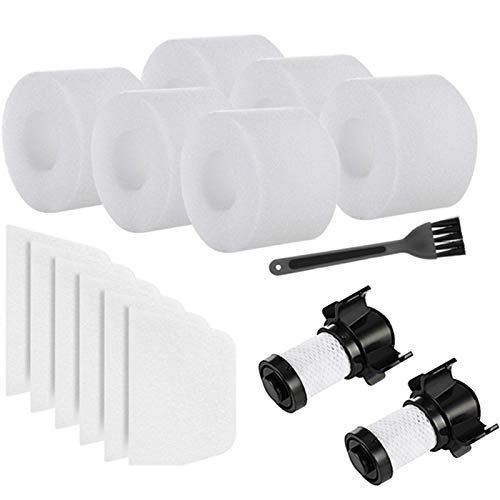 Binchil Replacement Filters for Shark ION Flex DuoClean X30 X40 F60 F80 IF200 IF201 IF202 IF205 IF251 IF252 IF281 IF282 IF285