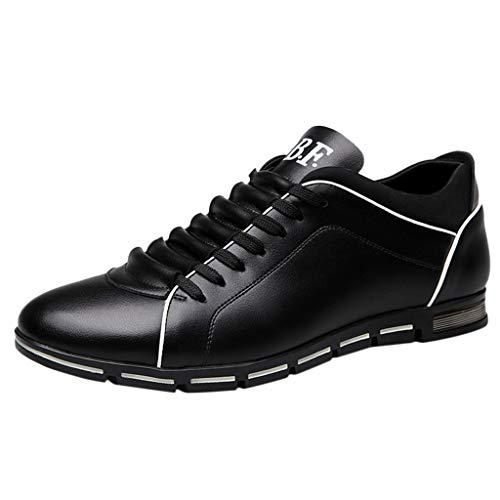 ♥ Loveso♥ Herrenschuhe Flache Schuhe Komfortabel Loafer Flats Zettel Auf Schuhen Freizeit Schuhe Lace-up