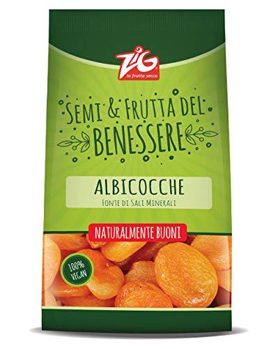 ZIG - Benessere - Albicocche secche 600g (3 buste da 200g)