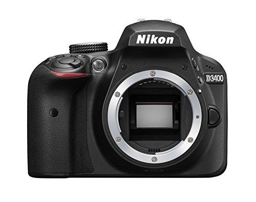 Nikon D3400 Digital SLR Camera - Black (Renewed)