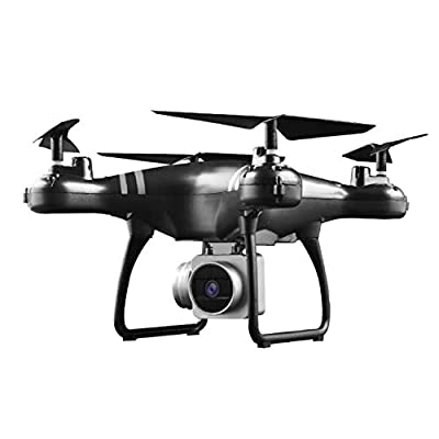 Cracklight Remote Control Drone with Camera, Wifi 720P/1080P Camera Live Video and GPS Return Home 2.4GHz 4 CH 4 Axis Gyro RTF RC Quadcopter- Follow Me, Altitude Hold, 24 Mins Long Battery Life