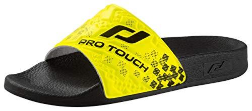 Pro Touch Badesandale Tarragona Jr - schwarz/gelb, Größe:30