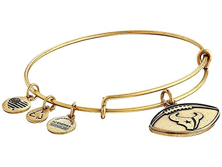 Alex and Ani Women's NFL Houston Texans Football Bangle