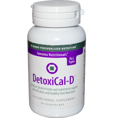 D'Adamo Personalized Nutrition Detoxical-D, 90 Count