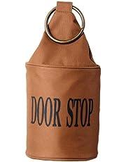 Esschert Design Ring brun dörrstoppare, kanevas, sand, metall, 13 x 13 x 28,5 cm