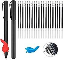 مجموعة أدوات إعادة تعبئة القلم السحري لدفاتر الممارسة السحرية القابلة لإعادة الاستخدام، عبوات حبر غير مرئية مع غلاف قلم...