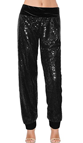 Ooh la la Fully Lined Sequin Pants with Cuffs 201720S cuffs
