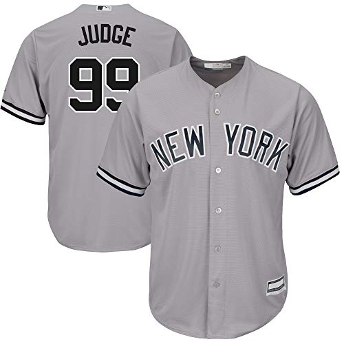OuterStuff Aaron Judge New York Yankees MLB Boys Youth 8-20 Player Jersey...