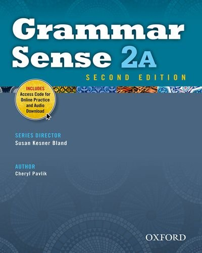 Grammar Sense 2A Student Book with Online Practice Access Code Card