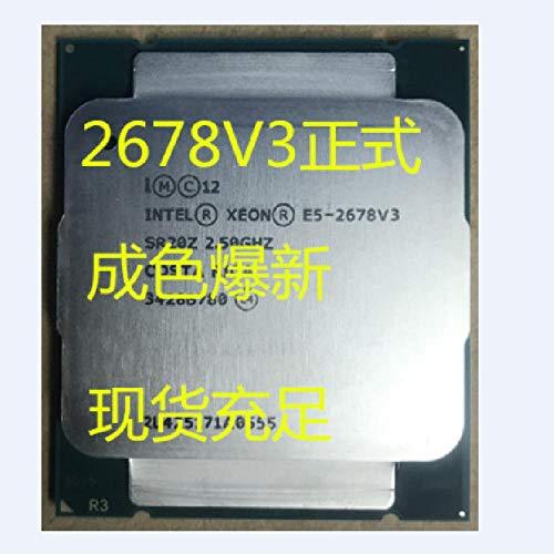 Intel Xeon E5 2678 V3 CPU 2.5G Serve LGA 2011-3 E5-2678V3 2678V3 SR20Z PC Desktop Processor for X99 Motherboard 2678 V3