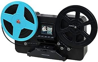Magnasonic Super 8/8mm Film Scanner, Converts Film into Digital Video, Vibrant 2.3