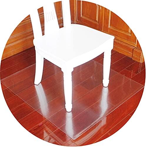 Przezroczysty Krzesło Mat, Odporny Na Zarysowania Wysoka Przejrzystość Łatwe Do Myciado Marmuru Biurko Blaty Ze Stali Nierdzewnej 36 Rozmiar ZWYSL (Color : 1.5MM, Size : 60x120cm)