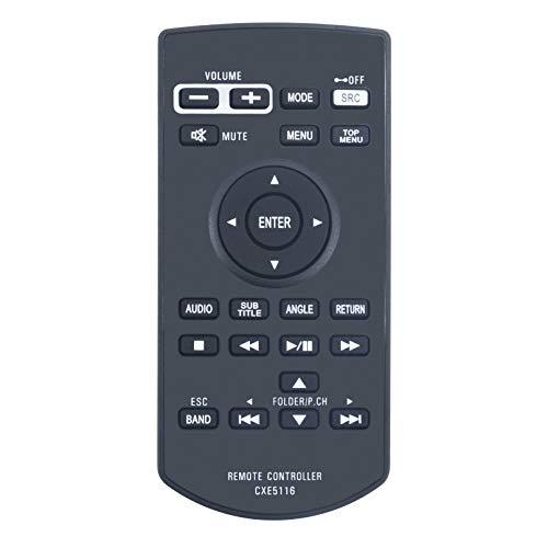 VINABTY CXE5116 Ersatz Fernbedienung für Pioneer Car Audio System AVHX1500DVD AVHX1600DVD AVHX3500BHS AVHX3600BHS AVHX3700BHS AVH-1300NEX AVH-X390BS AVH-2300NEX Remote Controller