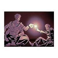 ピースパズル ジグソーパズル 纸製パズル アニメパターン 呪術廻戦 プレゼント キャラクター 萌えグッズ ギフト 虎杖 悠二 伏黒 恵 レジャー 根気を育てます 頭脳が活発に働き エンターテイメントパズル ピース 人気 贈答品 纸製のパズル