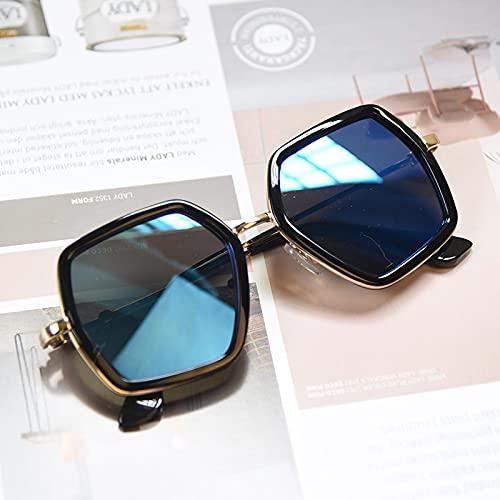 Gafas De Sol Forma Geométrica Moda Gafas De Sol Redondas Niños Niñas Gafas De Sol Vintage Protección UV Gafas Clásicas C9812-6