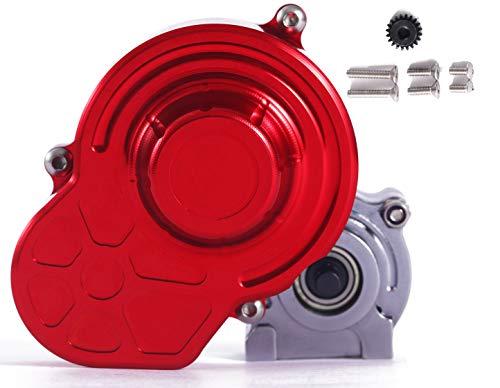 RZXYL 1/10 RC Car Voll Alloy Getriebegehäuse Getriebe mit Getriebe Assembled für SCX10 SCX10 II 90046 90047 RC Crawler