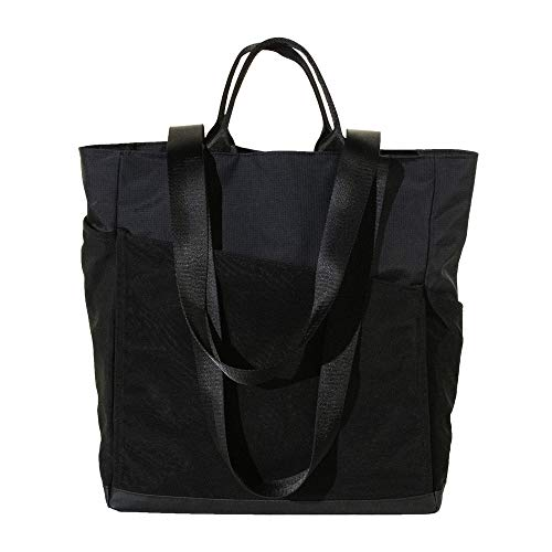 Sweetspot Black Athletic Tote - Perfect for Tennis, Yoga, Barre, Climbing