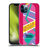 Head Case Designs Officially Licensed Back to The Future Hoverboard 2 I Composed Art Soft Gel Case Compatible with Apple iPhone 12 / iPhone 12 Pro