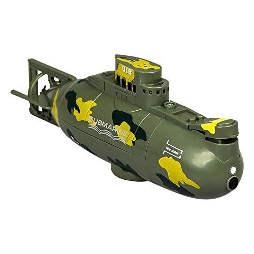 Stronrive Mini-U-Boot mit Fernbedienung Mini U Boot Ferngesteuert U-Boot Mini Außenboot U-Boot Spielzeug RC Boot Wasserdichtes Boot für Badewanne Schwimmbad See
