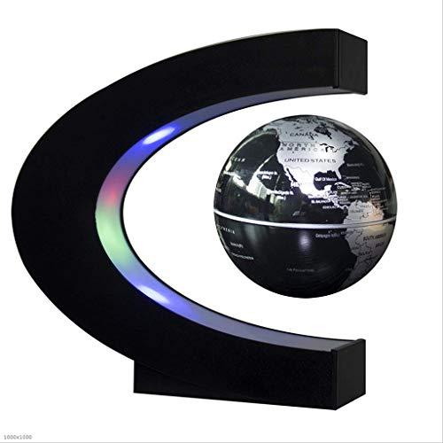 PEILIAN Levitación magnética Global Globo hogar Oficina decoración Juguetes educativos (Size : 17x17x8.5cm)