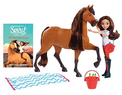 JP Spirit JPL39239 Spirit Kleine Puppe /& Classic Pferde-Abigail und Boomerang Nylon//A