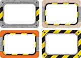 Teacher Created Resources Under Construction Name Tags/Labels - Multi-Pack