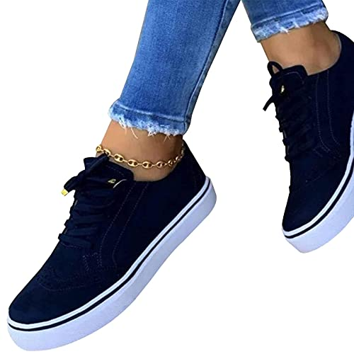 Raspbery Deportes Zapatos Casuales Lace Up Shoes Planos Tacones Planos Zapatos Planos Zapatos Informales Sensible