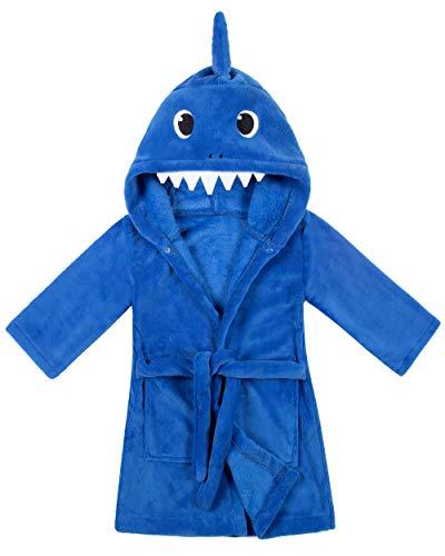 shark bathrobe toddler - 4