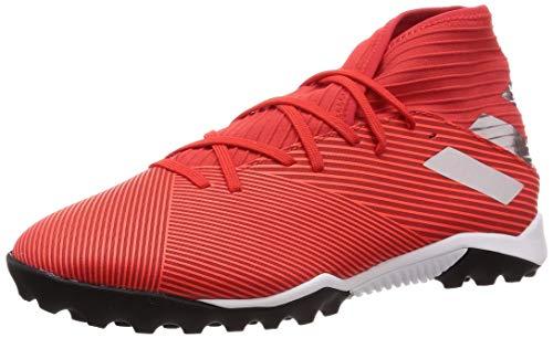 adidas Men's F34427_44 2/3 Football Shoe, Red Silver, 10 UK