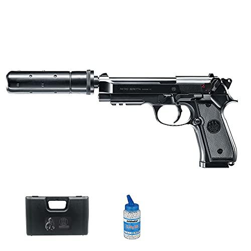 Pistola de Airsoft Beretta M92 A1 eléctrica (Calibre 6mm) | Arma Corta...