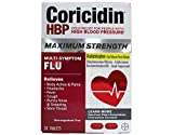 Coricidin Hbp Max Flu Dmx Size 24ct Coricidin Hbp Maximum Strength Flu Relief