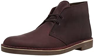 Clarks Men's Bushacre 2 Chukka Boot, Wine Leather, 10 M US (B078HPBLPT) | Amazon price tracker / tracking, Amazon price history charts, Amazon price watches, Amazon price drop alerts