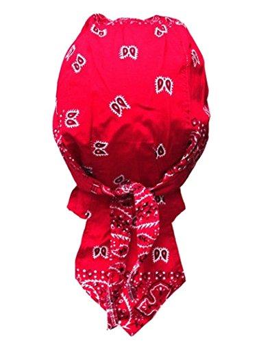 armardi b Bandana casquette Old School Rouge