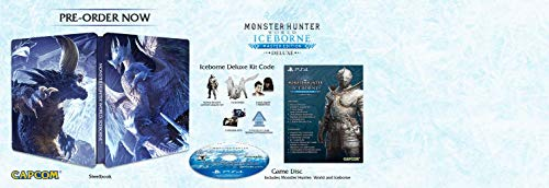 Monster Hunter World: Iceborne Master Edition Deluxe Play Station 4 – Special Edition – PlayStation 4