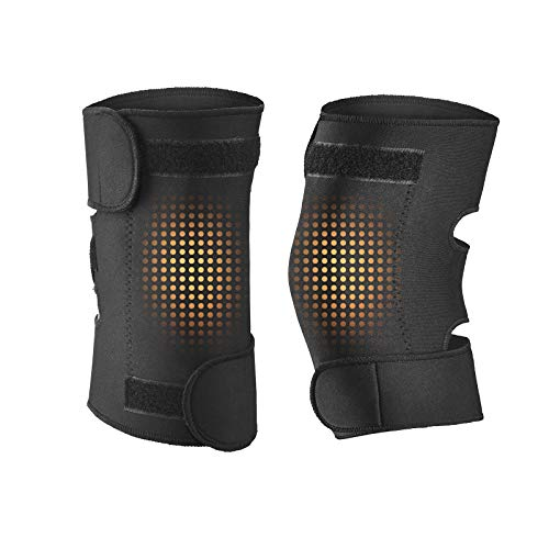 AUTUMN LSGTR Adjustable Knee Support Brace for Men and Women - Universal Fit Arthritis Pain, Injury Recovery, Running, Workout(1 Pair)