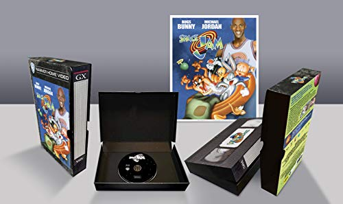 Space Jam VHS Vintage Pack, Edizione Limitata, Blu Ray