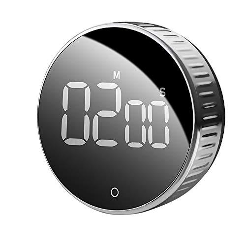 IWILCS Digital Kitchen Timer, despertador de cocina con pantalla LCD, temporizador de cocina digital, ideal para cocinar, hornear, hacer deporte, estudiar, etc.