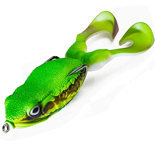 Molix Supernato Frog Hollow Body Fishing Bait. Premium Top Water Fishing Lure for Bass and Pike. ILA...