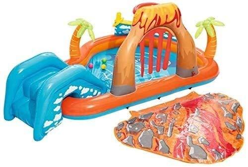 Geng Aufblasbare Pools Aufblasbare Lava Lagune Schwimmbad Spielzentrum Für Kinder Sommer Wasser Schwimmspiel Garten Outdoor Ground Fun Raft